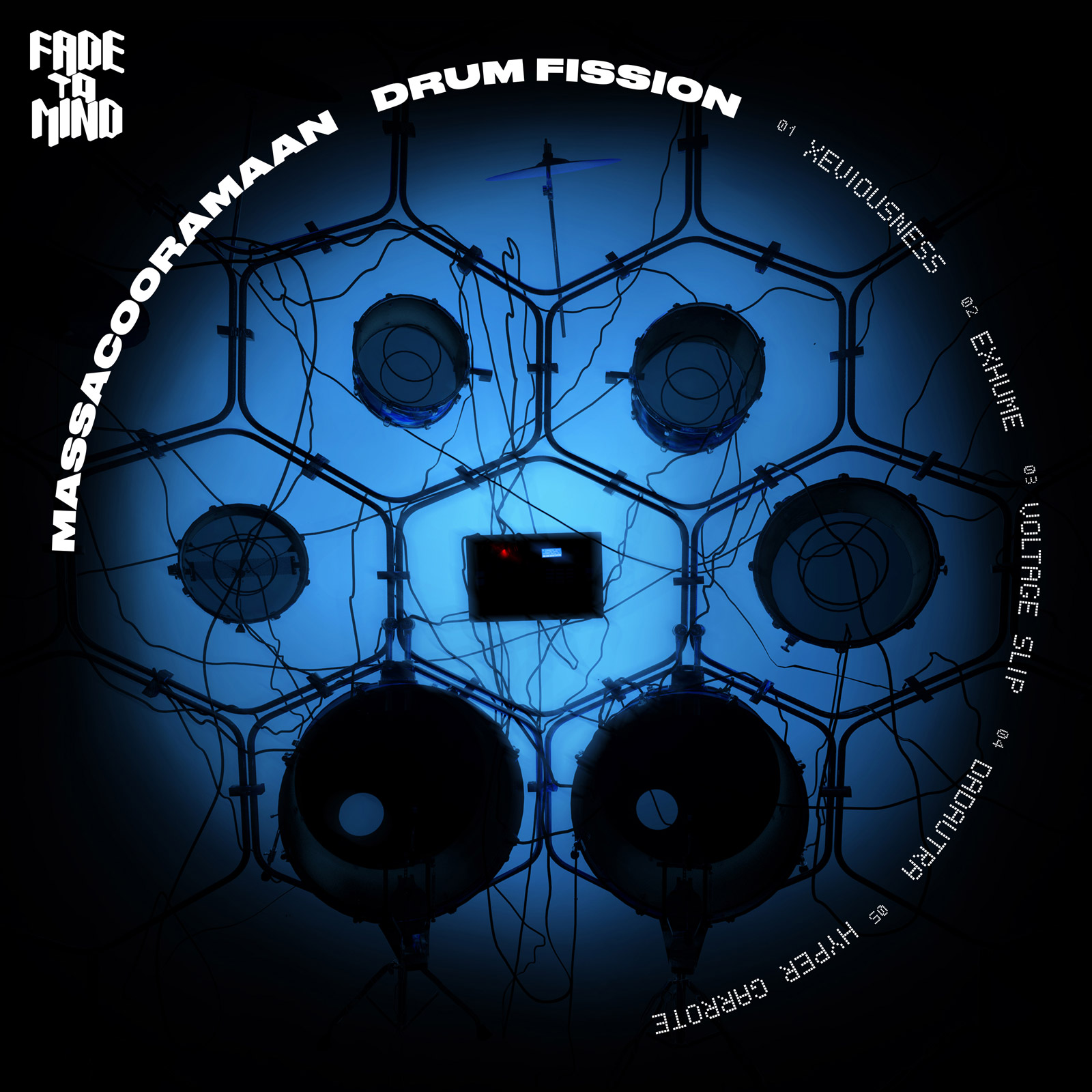 Massacooramaan - Drum Fission EP